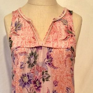Akemi + Kim by Anthropologie Floral Tank - Small